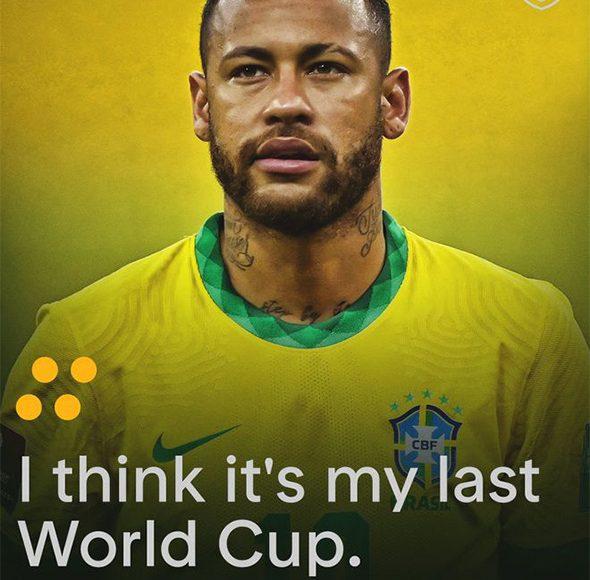 Neymar: ¡2022 es mi último Mundial!